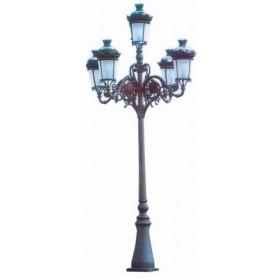 Stalp iluminat - MODELUL 20-F5 + FELINAR