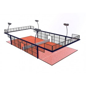 Teren padel - model 2